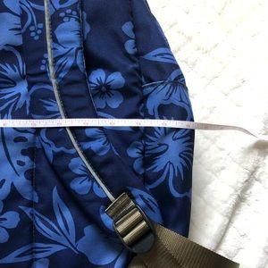 L.L. Bean Accessories - L.L. Bean navy floral backpack